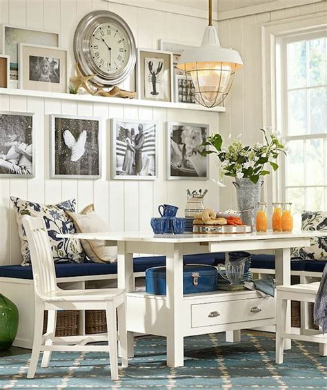 casual dining room ideas pottery barn vacation home 7 lovely dining rooms the inspired room