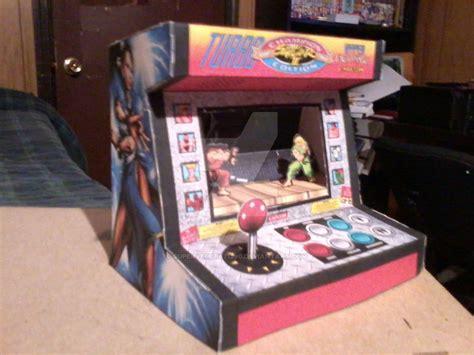 Papercraft Arcade - mini arcade papercraft by supervegeta71290 on deviantart
