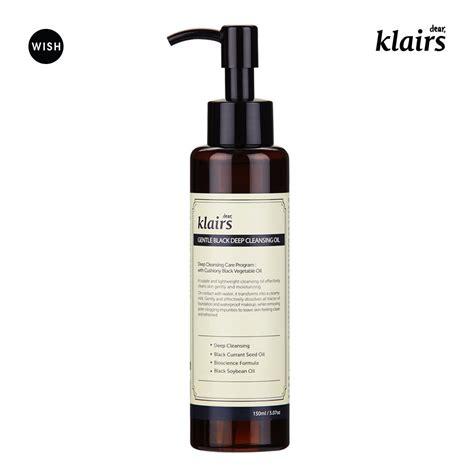 Klairs Cleanser klairs gentle black cleansing make up cleansing