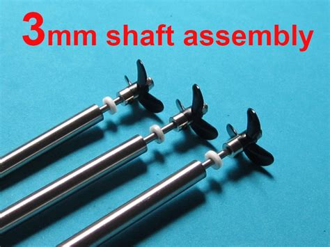 rc boat propeller shaft kit free shipping rc boat stainless steel 3mm drive shaft with