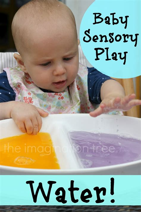 Play Baby Healt activities for infants and toddlers ideas for implementing expressive materials water sand