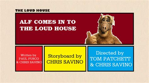 The Loud House Title Card Template by Tlh Alf Comes In To The Loud House Title Card By