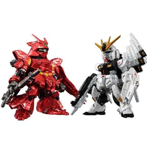 Fw Gundam Converge Sazabi Nu Gundam Metallic best buy bandai fw gundam converge ν gundam sazabi metallic ver