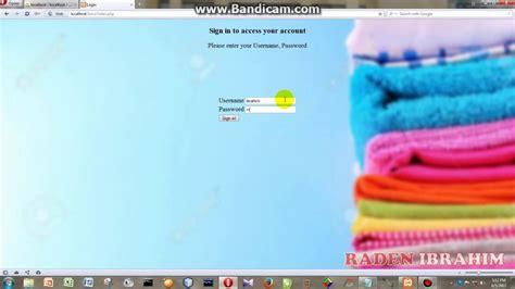 membuat website laundry contoh cara membuat program jasa laundry pakaian berbasis