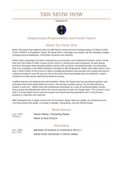 Resume Objective For Youth Pastor Pastors Resume Pdf Youth Pastor Pastor Resume Sles General Exles Youth Objective Sle