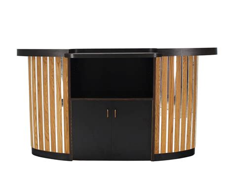 Large Liquor Cabinet by Large Oval Bar Liquor Cabinet For Sale At 1stdibs