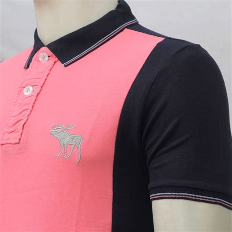 Polo Shirt Abercrombie Psp Abercrombie 13 abercrombie fitch polo shirt mh23p pink black