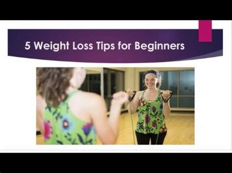 5 weight loss tips 5 weight loss tips for beginners by weightwerx