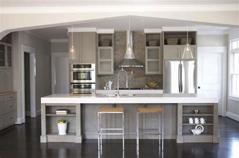 gray kitchen cabinets contemporary kitchen sherwin williams pavestone gray terracotta