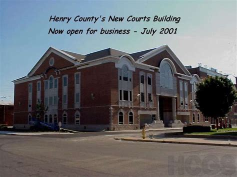 Henry County Indiana Court Records Hcgs Henry County Indiana Justice Center