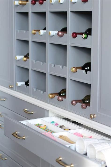 built in wine rack in kitchen cabinets built in wine rack design ideas