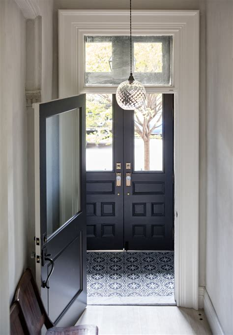 entry vestibule a uniquely renovated brooklyn brownstone design sponge