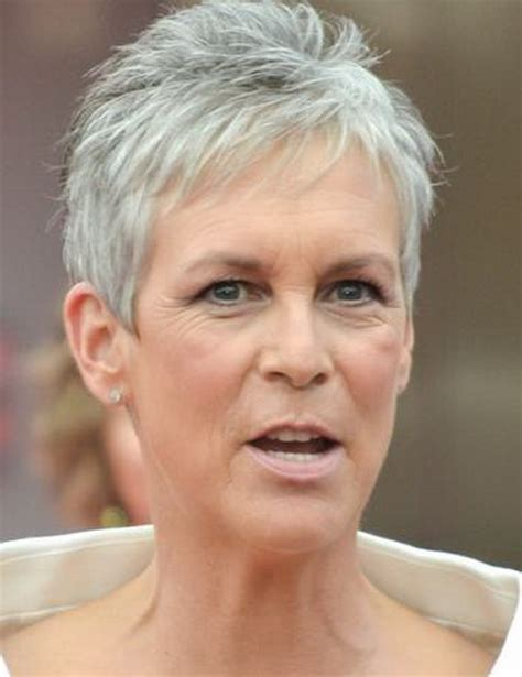 Short Hairstyles Grey Hair Pictures | short hair styles for gray hair