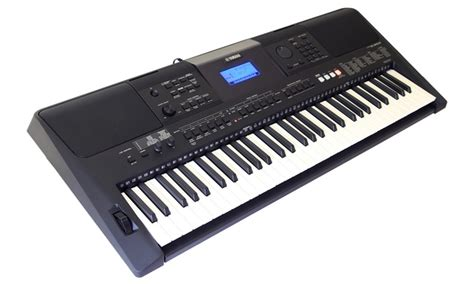 Keyboard Psr E453 Yamaha Psr E453 61 Key Touch Response Keyboard Groupon
