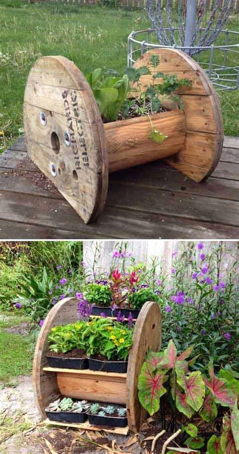 cool diy garden bed  planter ideas gardening