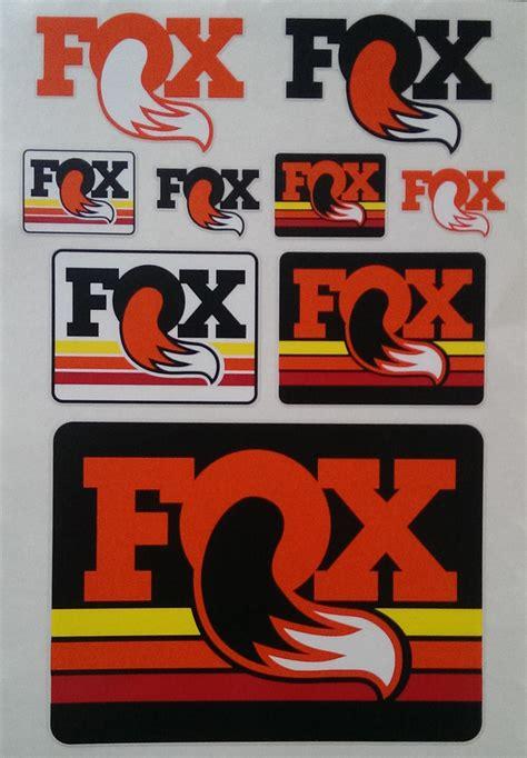 Fox Aufkleber Set by Fox Sticker Kit 2015 Aufkleber Set Bikemarkt Mtb News De