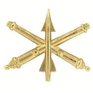 Air Defense Artillery Officer by Army Air Defense Artillery Officer Insignia Set