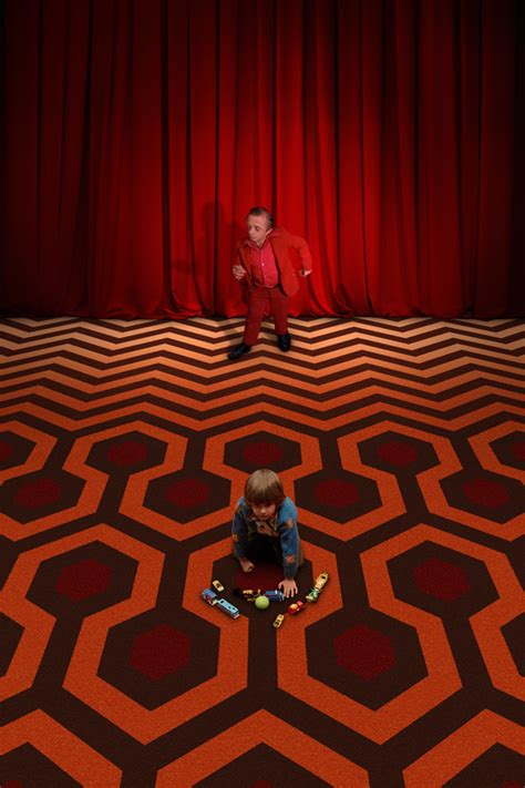 The Shining Floor by The Of David Lynch Meet Kubrick S The Shining In