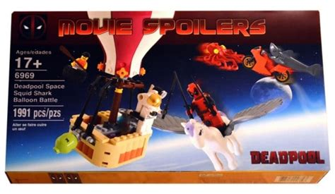 Promo Maianan Lego Brick Heroes marketing de faux sets lego pour faire la promo de