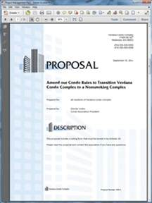 how to write a real estate or property business proposal
