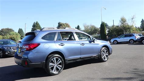 2018 Subaru Outback 2 5i Limited Twilight Blue Metallic