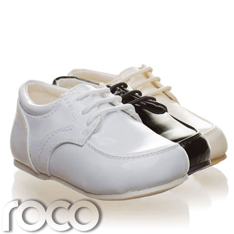 boys white sneakers childrens baby boys white shoes lace up wedding page boy