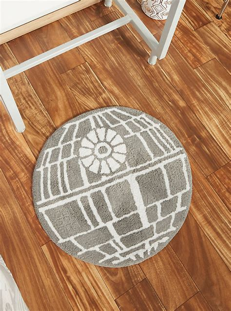 Star Wars Death Star Tufted Bath Rug Boxlunch Wars Bathroom Rug