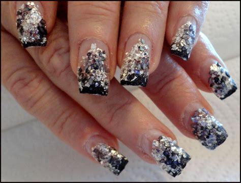 imagenes de uñas decoradas goticas cambio de decoracion con escarcha metalizada 171 blog de
