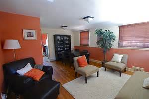 room brown couch orange google