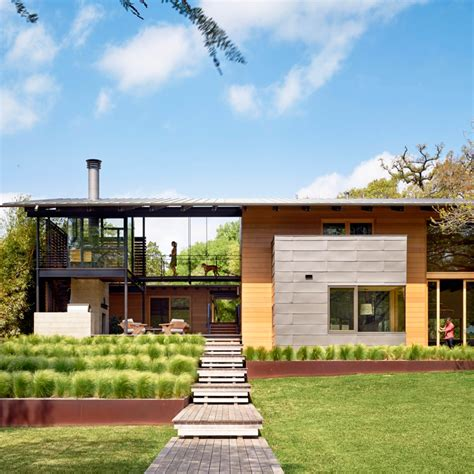 Pool Home Plans Lake Flato Completes Spacious Austin Home Featuring A
