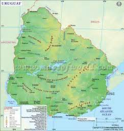 25 best ideas about uruguay map on map of
