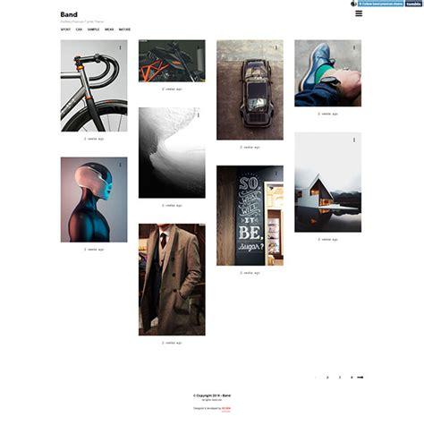 tumblr themes free bands best premium minimalist tumblr themes 2015