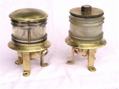 brass navigation lights for sale chandlers