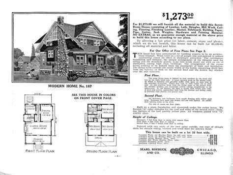 sears catalog homes building