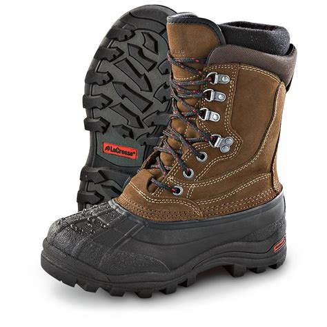s pac boots s lacrosse 174 garrison 400 gram thinsulate ultra