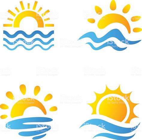 clipart mare sole e mare immagini vettoriali stock e altre immagini