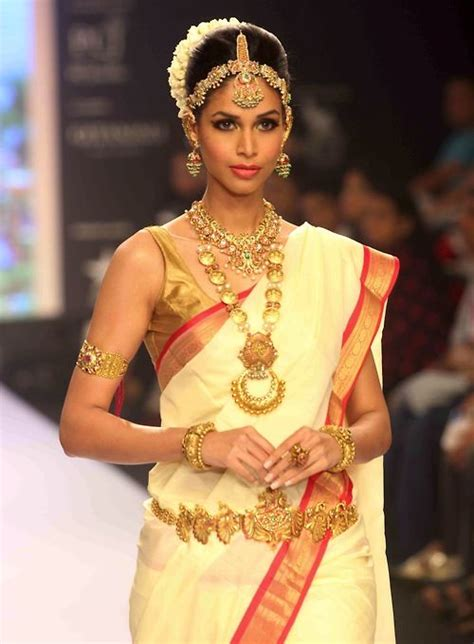 on pinterest saree blouse south indian bride and bridal sarees south indian bride in saree and traditional jewellery on