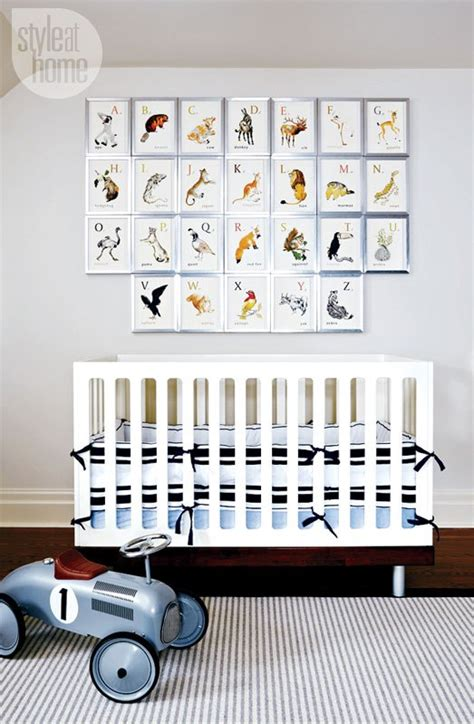 Stylish Crib by Stylish Nautical Boy S Nursery Design Kidsomania