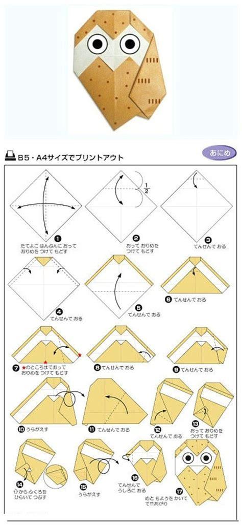 Origami Owl Pdf - origami delightful owl origami origami owl