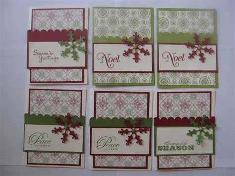 Handmade Cards Stin Up - stin up handmade greeting cards lot of 6