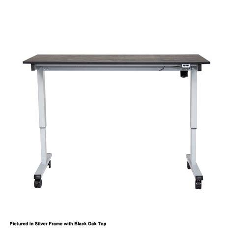 luxor 48 electric standing desk luxor stande 48 bk bo 48 electric standing desk black