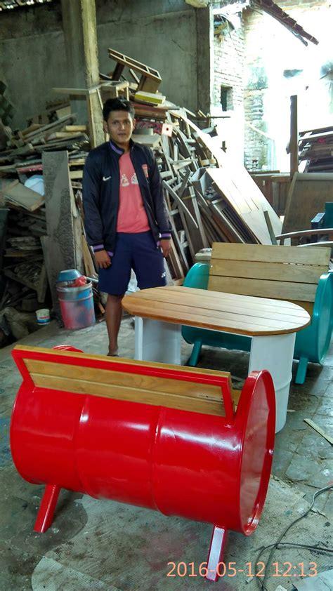 Jual Sofa Dari Drum jual kursi drum bekas kursi cafe aura mustika