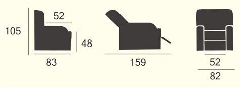 misure poltrona misure poltrona altre viste with misure poltrona altre