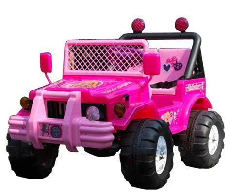 kid car jeep pink 12v little girls 2 seat ride on jeep 163 159 95 kids