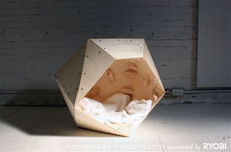 making dog house homemade modern ep13 geometric doghouse
