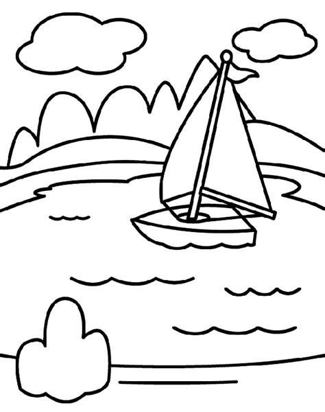 lake fish coloring pages lake coloring page crayola com