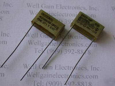 rifa capacitor pme271y 10x rifa pme271y 0 01uf 250vac fo 15mhz 5kvmp capacitor