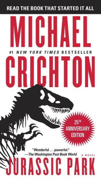 Barnes And Noble Jurassic Park Jurassic Park A Novel By Michael Crichton Nook Book