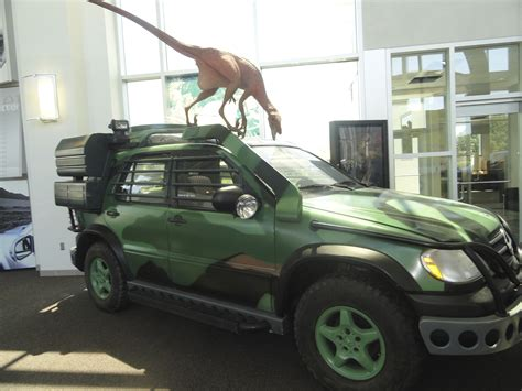 jurassic park car mercedes austin roadtrip knoxville mercedes plant i m not yet dead