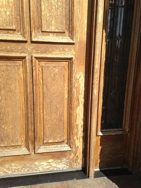 Exterior Door Refinishing The Cost Of Refinishing A Wood Front Door Or Garage Door Painting In Partnership